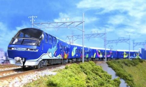 GREENMAX グリーンマックス 50691 名鉄1000系 ブルーライナー 4両編成セット(動力付き)