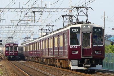 【グリーンマックス】阪急8300系(2次車・白ライト)発売