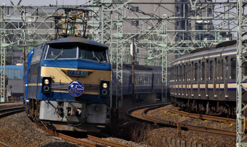 EF66形電気機関車(Photo by: Tennen-Gas / Wikimedia Commons / CC-BY-SA-3.0-migrated)※画像の車両は商品と仕様が異なる場合があります