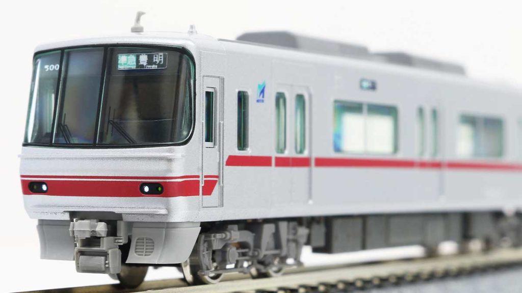 GREENMAX グリーンマックス 30444 名鉄5000系(ボルスタ付き台車編成・標識灯点灯)4両編成セット