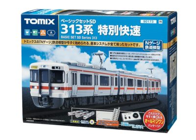 【TOMIX】ベーシックセットSD 313系 特別快速 再生産