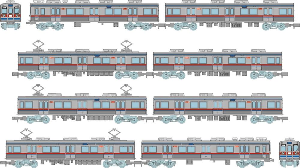鉄道コレクション 京成電鉄3600形3648編成8両セットB