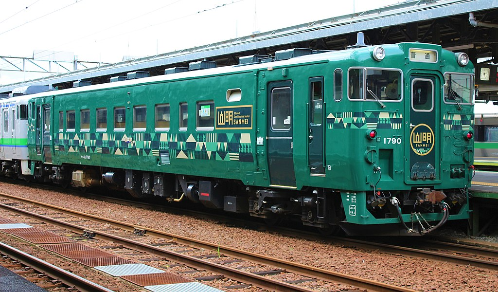 キハ40形1700番代 山明(Photo by: Rsa / Wikimedia Commons / CC-BY-SA-3.0-migrated)※画像の車両は商品とは仕様が異なる場合があります