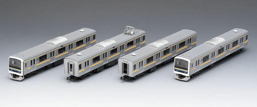 TOMIX トミックス 98766 JR 209-2100系通勤電車(房総色・4両編成)セット
