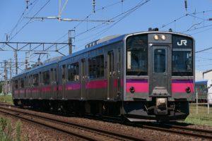 701系 秋田色(Photo by:MaedaAkihiko / Wikimedia Commons / CC-BY-SA-4.0)※画像の車両は商品とは仕様が異なることがあります