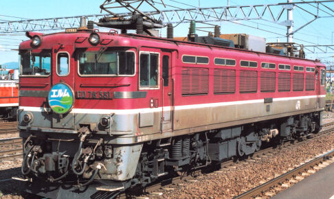 ED76形550番代(Photo by: spaceaero2 / Wikimedia Commons / CC-BY-SA-3.0)※画像の車両は商品と仕様が異なる場合があります