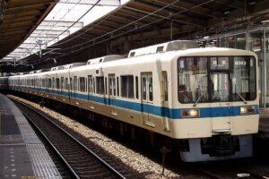 小田急電鉄8000形(Photo by:Cassiopeia sweet / Wikimedia Commons / パブリックドメイン )※画像の車両は菱形パンタではありません。商品と仕様が異なる場合があります。