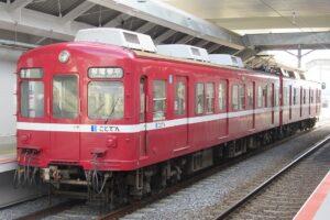 高松琴平電鉄1200形 情熱の赤い電車(Photo by:TRJN / Wikimedia Commons / CC-BY-SA-4.0)※画像の車両は商品とは仕様が異なることがあります