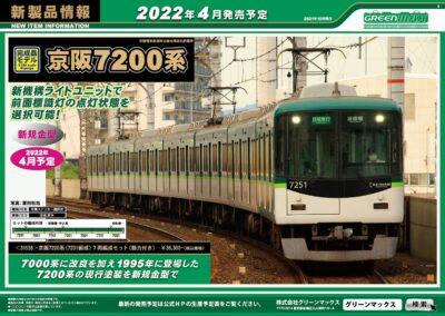 【グリーンマックス】2022年4月発売予定 新製品ポスター(2021年10月20日発表)