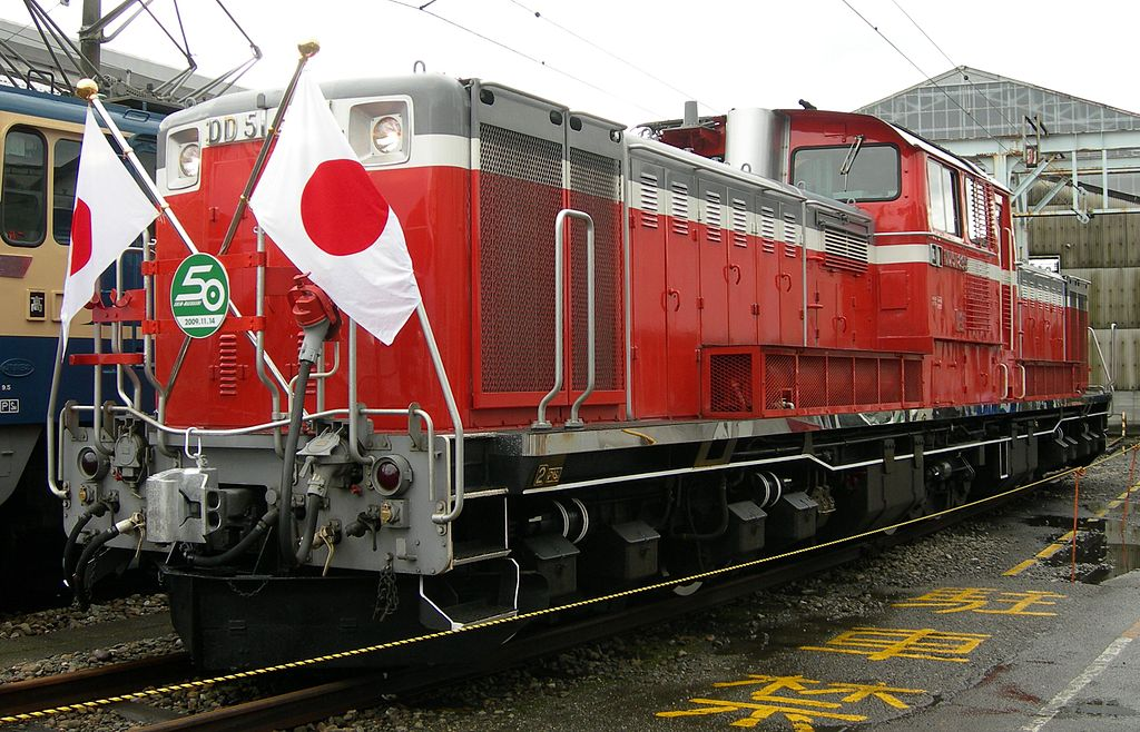 DD51形895号機(Photo by: Rsa / Wikimedia Commons / CC-BY-SA-3.0-migrated)※画像の車両は商品とは仕様が異なる場合があります